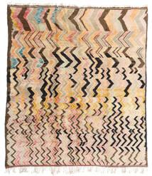Berber Moroccan - Mid Atlas Tapete 256X287 Moderno Feito A Mão Bege/Castanho Escuro Grande (Lã, Marrocos)