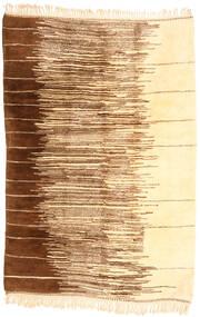 Berber Moroccan - Mid Atlas Tapete 200X305 Moderno Feito A Mão Amarelo/Bege (Lã, Marrocos)