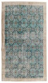 Vintage Heritage Tapete 112X197 Moderno Feito A Mão Cinzento Claro/Azul Turquesa (Lã, Pérsia/Irão)