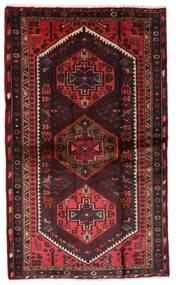 Hamadã Tapete 110X185 Oriental Feito A Mão Vermelho Escuro/Castanho Escuro (Lã, Pérsia/Irão)