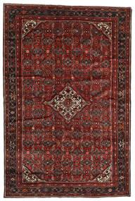 Hosseinabad Tapete 198X298 Oriental Feito A Mão Vermelho Escuro/Castanho Escuro (Lã, Pérsia/Irão)