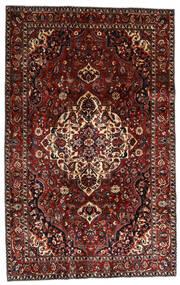 Bakhtiari Tapete 210X328 Oriental Feito A Mão Vermelho Escuro/Castanho Escuro (Lã, Pérsia/Irão)