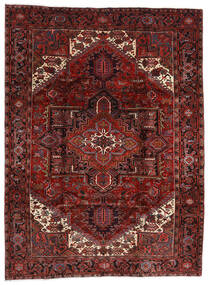 Heriz Tapete 210X282 Oriental Feito A Mão Vermelho Escuro (Lã, Pérsia/Irão)