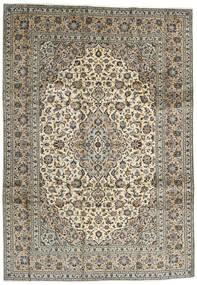 Kashan Tapete 248X354 Oriental Feito A Mão Castanho Escuro/Preto (Lã, Pérsia/Irão)