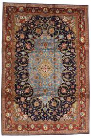 Sarough Sherkat Farsh Tapete 231X344 Oriental Feito A Mão Castanho Escuro/Porpora Escuro (Lã, Pérsia/Irão)