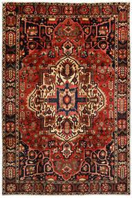 Bakhtiari Tapete 214X316 Oriental Feito A Mão Castanho Escuro/Vermelho Escuro (Lã, Pérsia/Irão)
