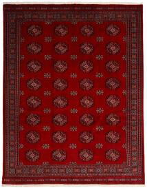 Paquistão Bucara 3Ply Tapete 249X315 Oriental Feito A Mão Vermelho Escuro/Vermelho (Lã, Paquistão)
