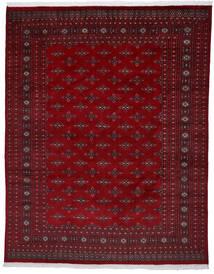 Paquistão Bucara 2Ply Tapete 241X303 Oriental Feito A Mão Vermelho Escuro/Castanho Escuro (Lã, Paquistão)