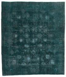 Vintage Heritage Tapete 244X280 Moderno Feito A Mão Turquesa Escuro/Azul (Lã, Pérsia/Irão)