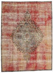 Vintage Heritage Tapete 216X293 Moderno Feito A Mão Castanho Claro/Vermelho Escuro (Lã, Pérsia/Irão)