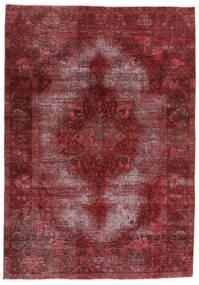 Vintage Heritage Tapete 198X284 Moderno Feito A Mão Vermelho Escuro/Roxo (Lã, Pérsia/Irão)