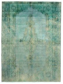 Vintage Heritage Tapete 189X256 Moderno Feito A Mão Verde Pastel/Azul Turquesa (Lã, Pérsia/Irão)