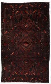 Balúchi Tapete 105X123 Oriental Feito A Mão Vermelho Escuro (Lã, Afeganistão)