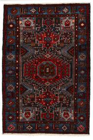 Saveh Tapete 142X210 Oriental Feito A Mão Vermelho Escuro (Lã, Pérsia/Irão)