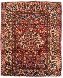 Bakhtiari Tapete 174X214 Oriental Feito A Mão Castanho Escuro/Vermelho Escuro (Lã, Pérsia/Irão)