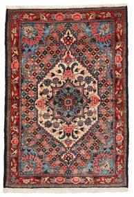 Bakhtiari Collectible Tapete 108X157 Oriental Feito A Mão Castanho Escuro/Vermelho Escuro (Lã, Pérsia/Irão)
