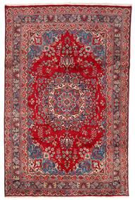 Mashad Tapete 198X304 Oriental Feito A Mão Vermelho/Vermelho Escuro (Lã, Pérsia/Irão)