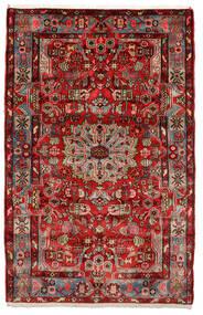 Nahavand Old Tapete 153X243 Oriental Feito A Mão Castanho Escuro/Preto (Lã, Pérsia/Irão)