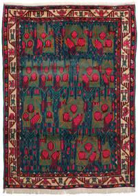 Afshar Tapete 163X228 Oriental Feito A Mão Vermelho Escuro/Azul Escuro/Turquesa Escuro (Lã, Pérsia/Irão)