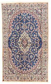 Nain Tapete 120X203 Oriental Feito A Mão Bege/Cinzento Claro (Lã, Pérsia/Irão)