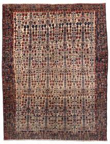 Afshar Tapete 165X214 Oriental Feito A Mão Vermelho Escuro/Castanho Escuro (Lã, Pérsia/Irão)