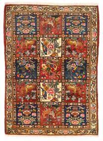 Bakhtiari Collectible Tapete 115X155 Oriental Feito A Mão Castanho Escuro/Vermelho (Lã, Pérsia/Irão)