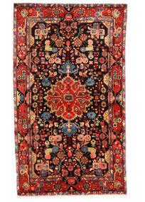 Nahavand Old Tapete 150X258 Oriental Feito A Mão Castanho Escuro/Vermelho Escuro (Lã, Pérsia/Irão)