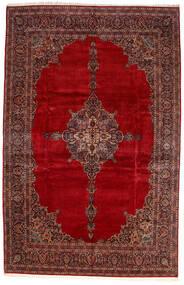 Kashan Ca. 1970 Tapete 335X517 Oriental Feito A Mão Vermelho Escuro/Castanho Alaranjado Grande (Lã, Pérsia/Irão)
