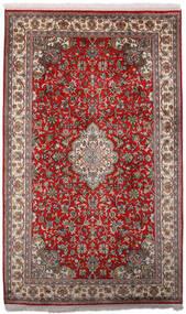 Kashmir Pura Seda Tapete 97X158 Oriental Feito A Mão Vermelho Escuro/Castanho Escuro (Seda, Índia)