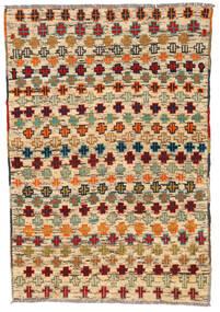 Moroccan Berber - Afghanistan Tapete 113X170 Moderno Feito A Mão Bege Escuro/Castanho (Lã, Afeganistão)