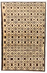 Moroccan Berber - Afghanistan Tapete 110X173 Moderno Feito A Mão Bege/Castanho Escuro/Bege Escuro (Lã, Afeganistão)