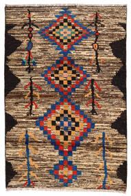 Moroccan Berber - Afghanistan Tapete 118X178 Moderno Feito A Mão Castanho Escuro/Castanho (Lã, Afeganistão)