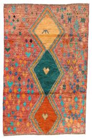 Moroccan Berber - Afghanistan Tapete 114X175 Moderno Feito A Mão Vermelho/Laranja (Lã, Afeganistão)