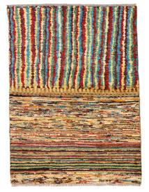 Moroccan Berber - Afghanistan Tapete 82X112 Moderno Feito A Mão Castanho Escuro/Vermelho (Lã, Afeganistão)