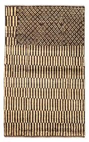 Moroccan Berber - Afghanistan Tapete 89X147 Moderno Feito A Mão Vermelho Escuro/Bege (Lã, Afeganistão)