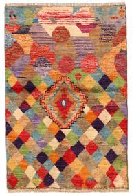 Moroccan Berber - Afghanistan Tapete 85X130 Moderno Feito A Mão Vermelho Escuro/Vermelho (Lã, Afeganistão)