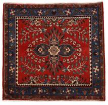 Lillian Tapete 72X77 Oriental Feito A Mão Quadrado Vermelho Escuro/Castanho Alaranjado (Lã, Pérsia/Irão)