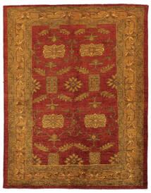 Oriental Overdyed Tapete 144X183 Moderno Feito A Mão Castanho Escuro/Vermelho Escuro/Bege (Lã, Pérsia/Irão)