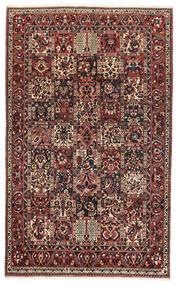 Bakhtiari Tapete 162X260 Oriental Feito A Mão Vermelho Escuro/Preto (Lã, Pérsia/Irão)