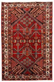 Rudbar Tapete 130X200 Oriental Feito A Mão Vermelho Escuro/Castanho Alaranjado (Lã, Pérsia/Irão)