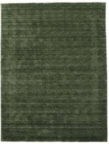 Handloom Gabba - Verde Floresta Tapete 210X290 Moderno Verde Escuro (Lã, Índia)