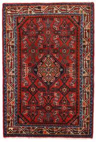 Hamadã Tapete 78X117 Oriental Feito A Mão Castanho Alaranjado/Vermelho Escuro/Preto (Lã, Pérsia/Irão)