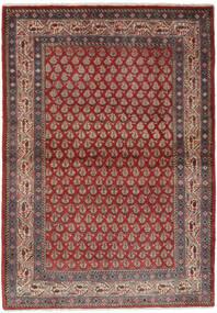 Sarough Mir Tapete 106X158 Oriental Feito A Mão Castanho Escuro/Preto (Lã, Pérsia/Irão)