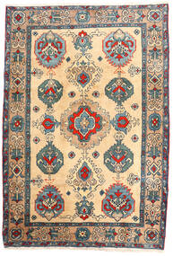 Ardabil Tapete 114X168 Oriental Feito A Mão Bege/Castanho Claro (Lã, Pérsia/Irão)