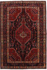 Toiserkan Tapete 157X232 Oriental Feito A Mão Vermelho Escuro/Castanho Escuro (Lã, Pérsia/Irão)