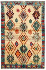 Moroccan Berber - Afghanistan Tapete 114X183 Moderno Feito A Mão Bege Escuro/Bege (Lã, Afeganistão)