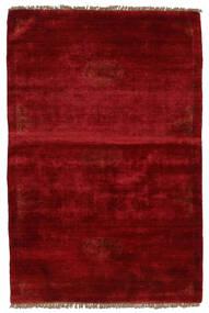 Huttan Tapete 96X143 Oriental Feito A Mão Vermelho Escuro (Lã, Paquistão)