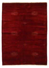 Huttan Tapete 142X195 Oriental Feito A Mão Vermelho Escuro/Castanho Escuro (Lã, Paquistão)