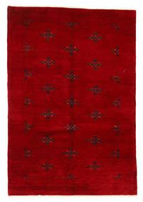 Huttan Tapete 125X183 Oriental Feito A Mão Vermelho Escuro (Lã, Paquistão)