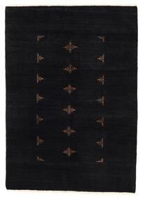 Huttan Tapete 137X195 Oriental Feito A Mão Preto (Lã, Paquistão)